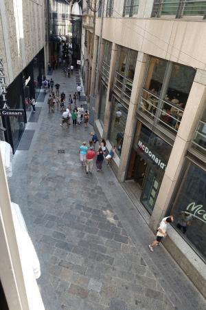 TH Street Duomo : Aussicht aus dem Fenster