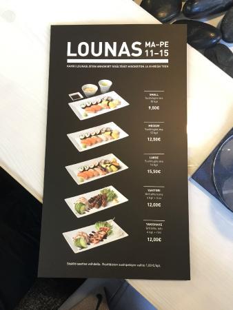 hanko sushi vallila