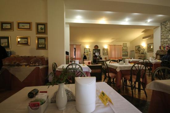 Hotel Sa Pedrera : sala colazione