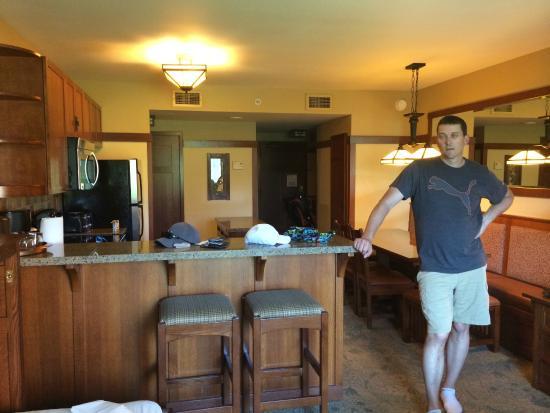 One bedroom villa picture of disney 39 s grand californian - Disney grand californian 2 bedroom suite ...