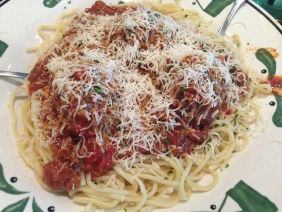 Spaghetti With Meatballs Picture Of Olive Garden New