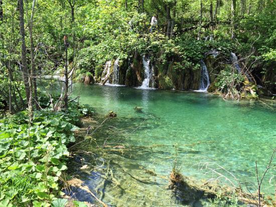plitvice lakes national park peccato solo non potersi fare un bagno