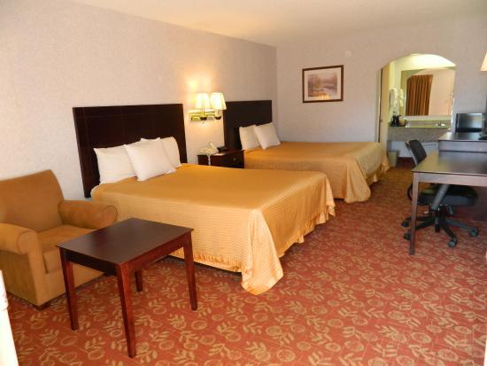 York, Южная Каролина: Guest room