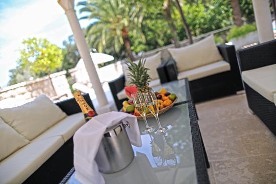 Villa Franica: Lounge