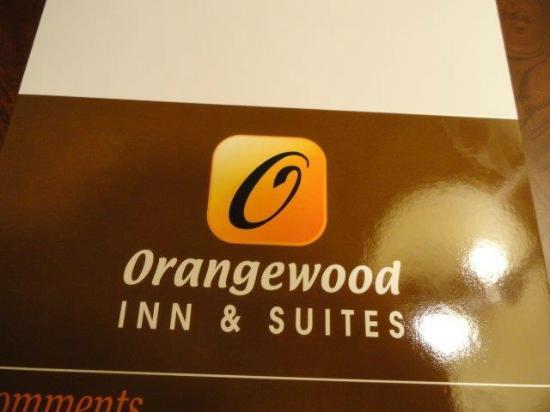 Orangewood Inn and Suites Austin North: визитка