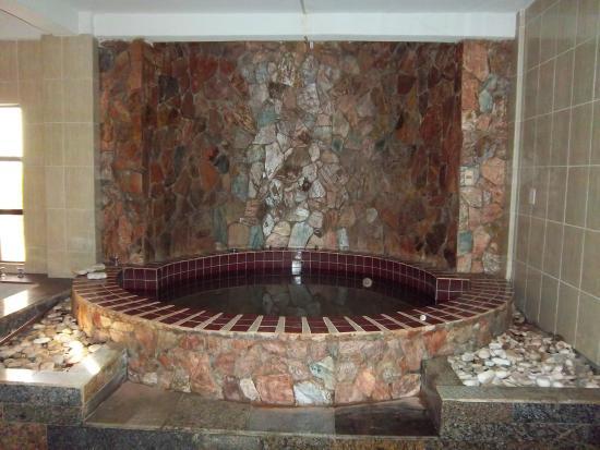 Hotel Cascata Das Pedras: area de sauna