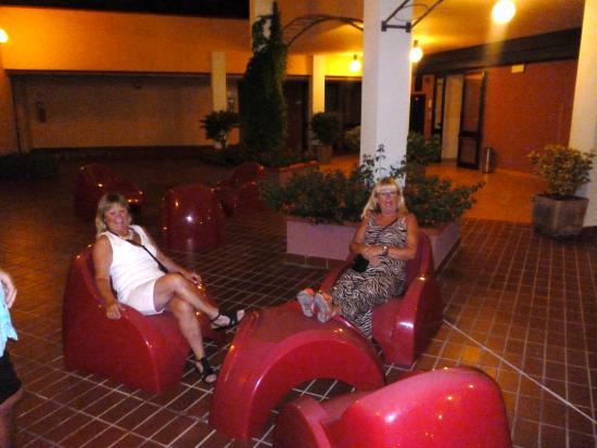 Residence Picale: Hotellets innergård
