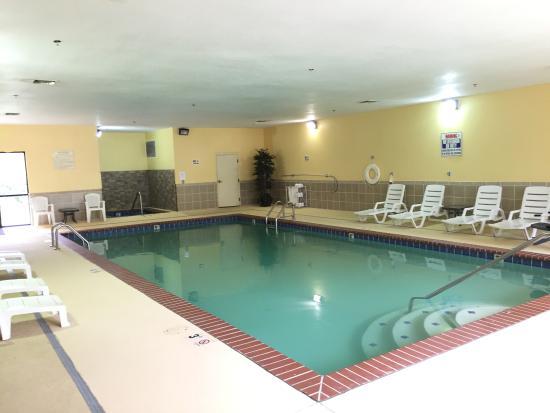 Comfort Inn & Suites Rogersville: Indoor pool with hot tub