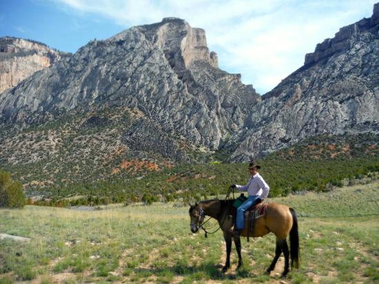 The Hideout Lodge & Guest Ranch: in one of the outings at the Ranch.