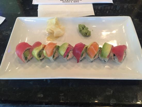 Wasabi : Rainbow Roll