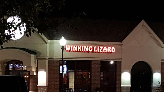 ‪The winking lizard‬