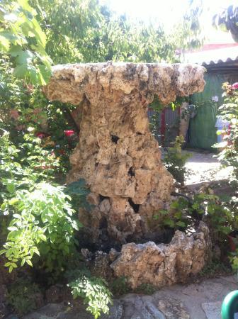 restaurante ideal fuente de piedra natural