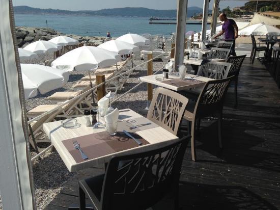 Restaurant Le Diamant Sainte Maxime