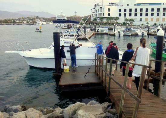 30 39 boat picture of gordo banks pangas private for San jose del cabo fishing charters