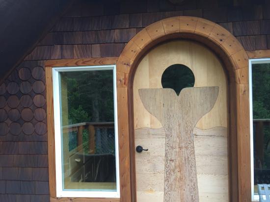 Sourdough Sunrise B & B : Upper porch door