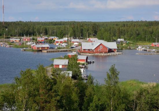 Мустасаари, Финляндия: Salteriet birdview