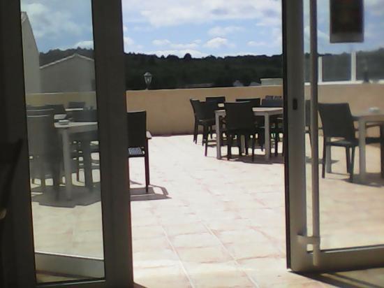 La Petite Auberge : terrasse