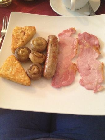 The Lawnswood Guest House: Lawnswood breakfast for a fussy eater! Thank you for accommodating!