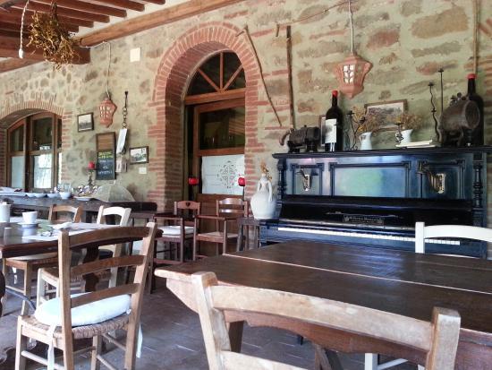 Cuor Di Lupo: Particolare della sala da colazione e pranzo