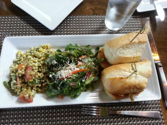 Crop Bistro: meatloaf sandwich with kimchee and ....