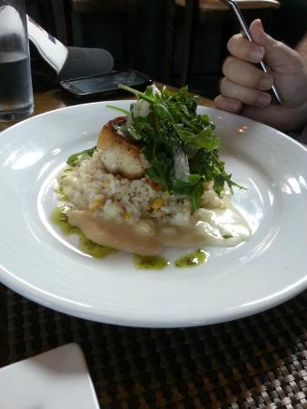 Crop Bistro: walleye with orzo