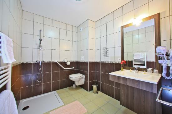 Auberge de la Petite-Reine : salle de bain