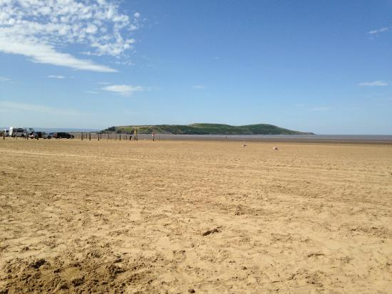 Weston-super-Mare, UK: View toward Bream