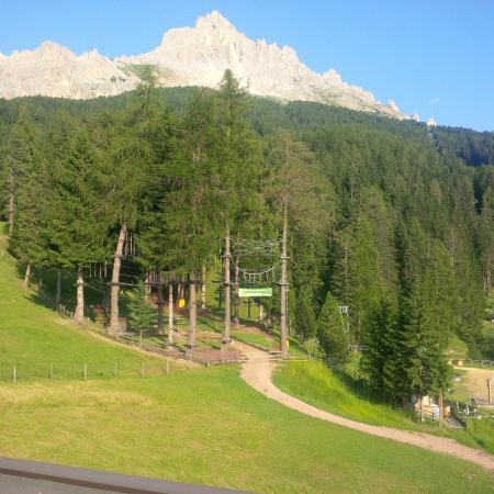 Sporthotel Obereggen : La vista stupenda dalla nostra camera