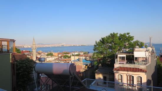 Stanpoli Hostel : Vista do café da manhã