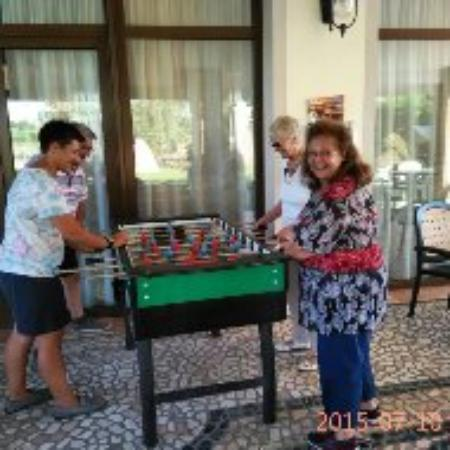 "Agriturismo ""Il Cascinale"": Enjoying Table Footie at Il Cascinale"