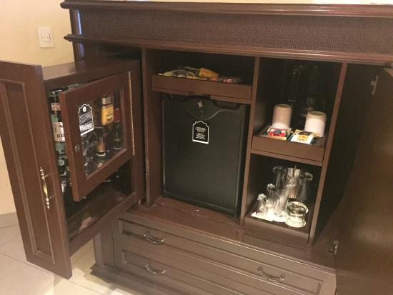 Minibar - Picture of Hilton Playa del Carmen, an All