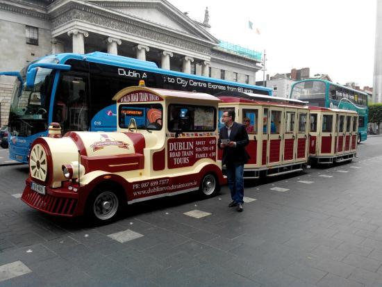 Dublin Road Train Tours: Irish train tour