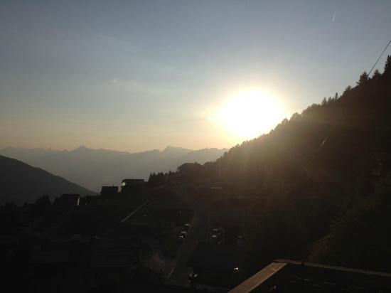 Canton of Valais, Switzerland: Last sun of the Valais