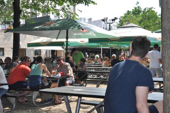 bohemian hall beer garden biergarten - Bohemian Beer Garden