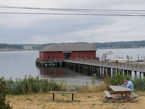 Kim's Cafe: This shot of Kim's was taken from the Coupeville Museum...be sure to see that too.