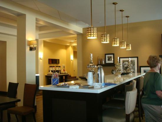 Hampton Inn Salt Lake City-Downtown: breakfast area