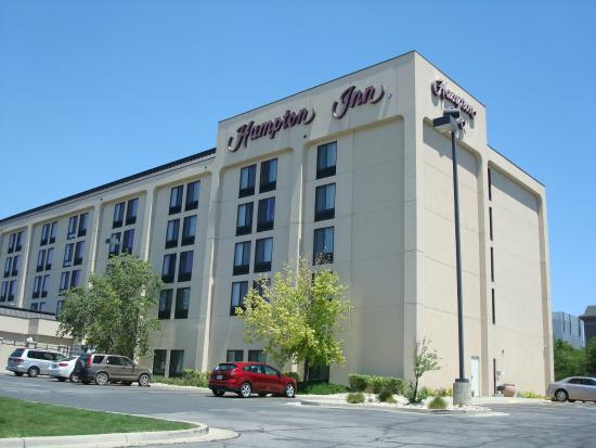 Hampton Inn Salt Lake City-Downtown: Hotel external