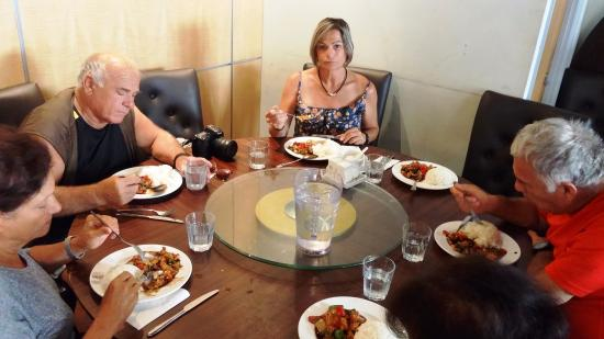 China City  - Russell Square : My wife enjoys the recommended meal