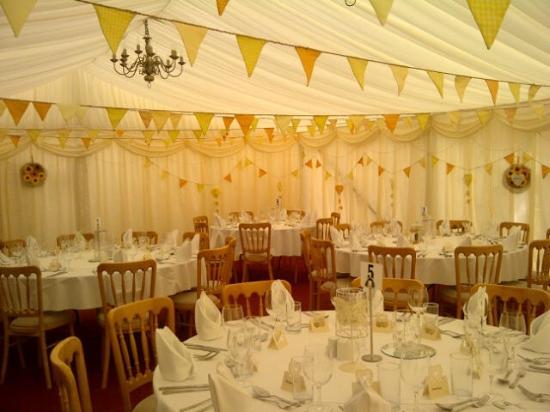 Thornham Coach House: Wedding breakfast