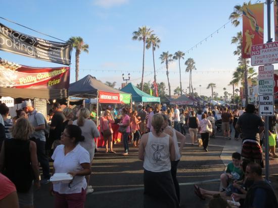 Best Western Oceanside Inn: Sunset market