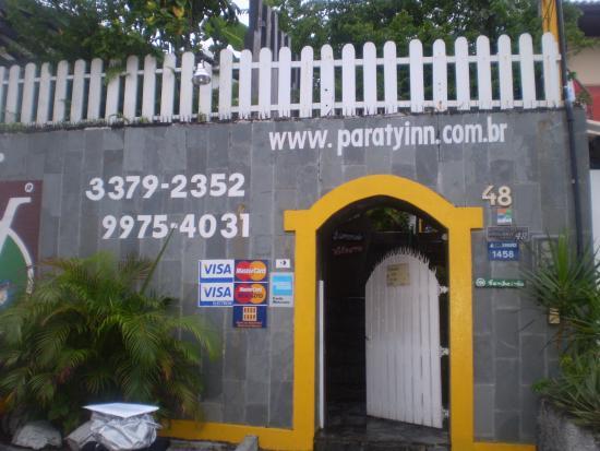 Pousada Paraty Inn: Fachada da pousada
