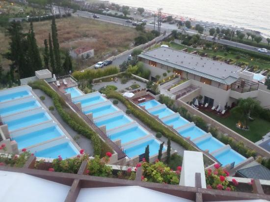 Amathus Beach Hotel Rhodes Elite Suites View