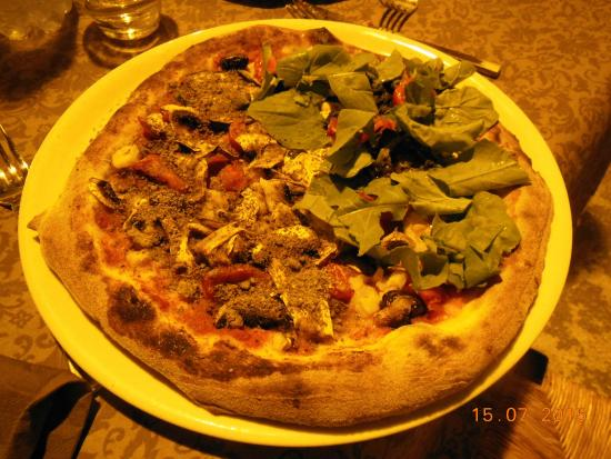 pizza sia vegetariana e san leone