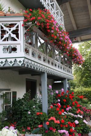 Kuenstlerhaus Exter mit Garten