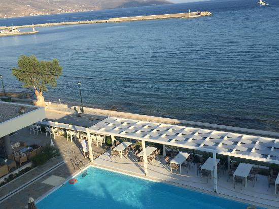 Anastasia Hotel Karystos: View from our room - BREATHTAKING!