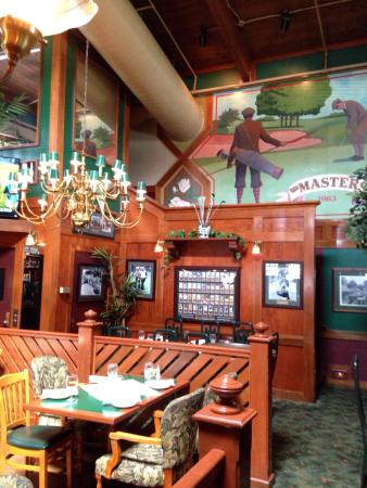 Masters Restaurant: One of the dining areas
