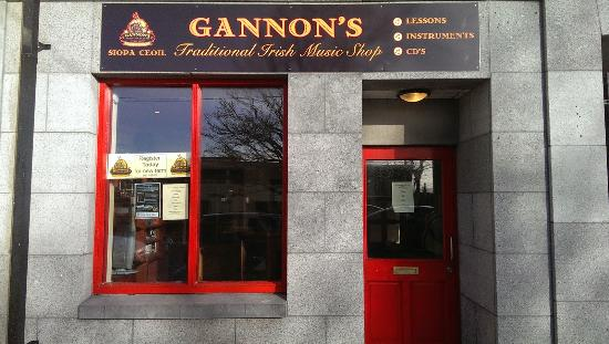 Gannon's Traditional Irish Music Shop