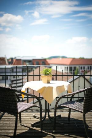 Hotel Gasthof Höttl: Terrasse