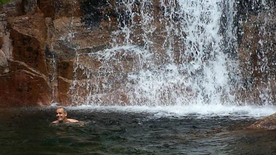 Swimming in Geres National Park