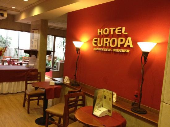 Europa Hotel: Comedor